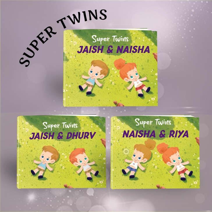 """""""Super Twins"""" Book"""