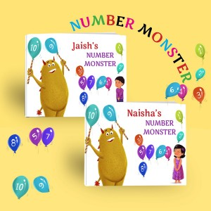 Personalized Counting Book