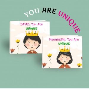 You Are Unique - Personalized Book