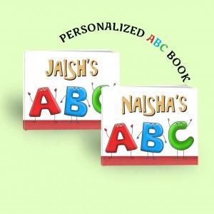 ABC - Personalized Board Book