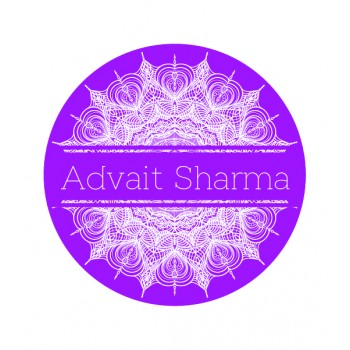 """Mandala Theme"" School Name Labels (30 - 90)"