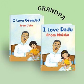 """I Love Grandpa"""