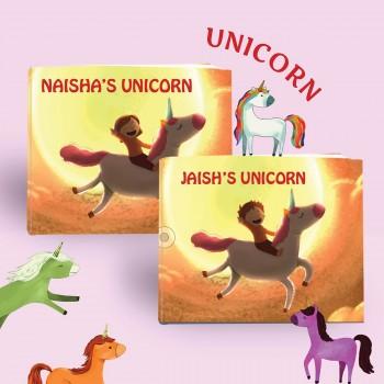 Personalized Unicorn Book