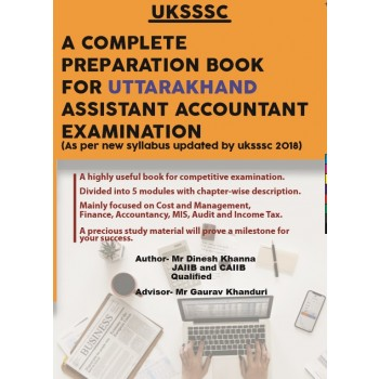 A Complete Preparation Book for Uttarakhand Accountant Exam