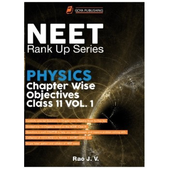 NEET Rank Up Series Physics Chapter Wise Objectives Class 11