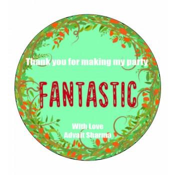 """""""Foliage Pattern"""" Gift Label (Set of 30)"""