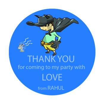 """Superhero"" Gift Label (Set of 30)"