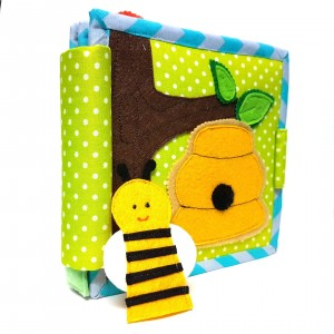 """Amazing Bee"" Children's Quiet / Activity Book"
