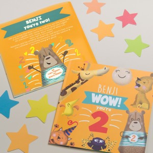 """Wow You Are Two"" Children's Birthday Book"