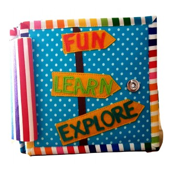 """Fun, Learn, Explore"" Children's Quiet / Activity Book"