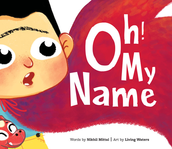 Oh My Name Story Book for boys