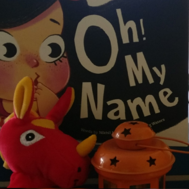 Oh! MY Name Book Cover.