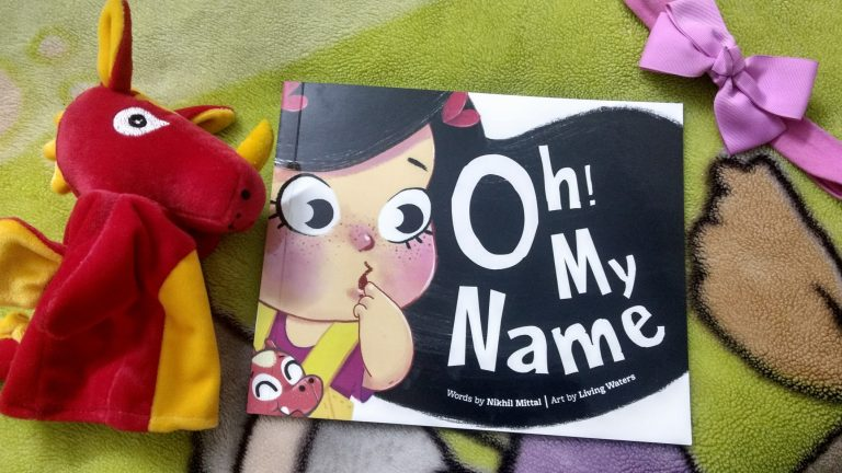 oh my name book with dabi puppet