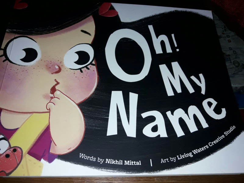 oh my name book review by gleefulblogger