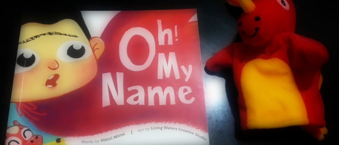 oh my name book review