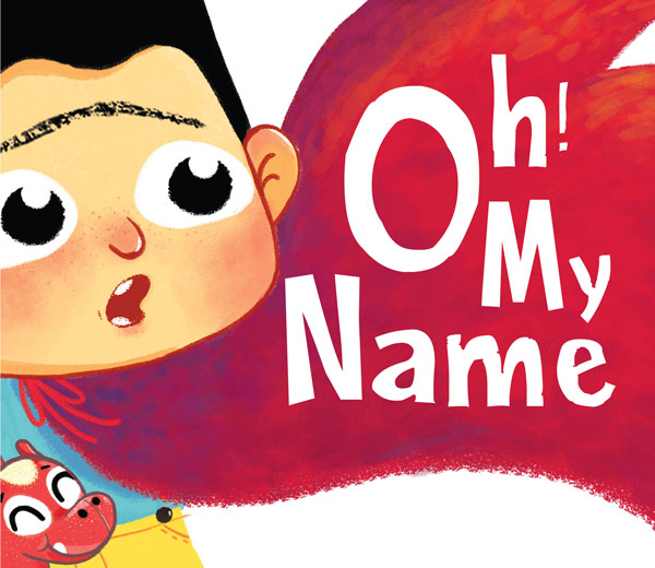 oh my name boy story book
